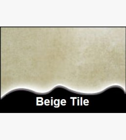 Beige Tile Cladding 250mm x 2.7m