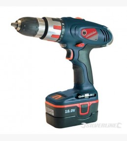 Combi Hammer Drill 18V with LED