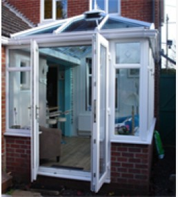 Edwardian UPVC DIY Porch