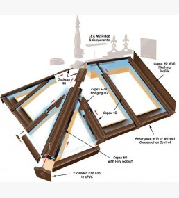 Capex 40 range liv supplies for Velux cladding kit