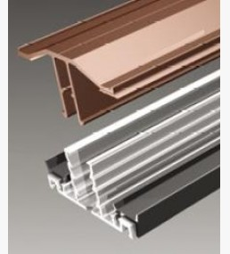 Brown Snap On Glazing Bar