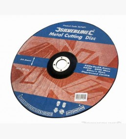 Metal Cutting Discs Depressed Centre 10pk
