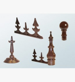 Sunwood Ridge Eaves Crestings & Finials