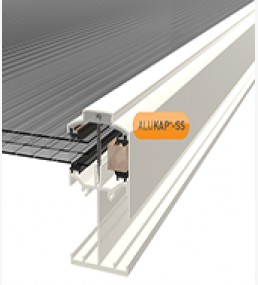 Alukap Self Support Low Profile Gable Bar White