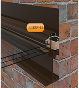 Alukap Self Support Low Profile Wall Bar Brown