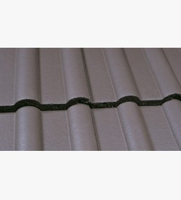 Marley Double Roman Smooth Grey Roof Tile