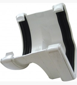 Right Hand Ogee To Half Round Gutter Adaptor