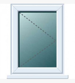 Pvcu Side Hung Right Hand Casement Window