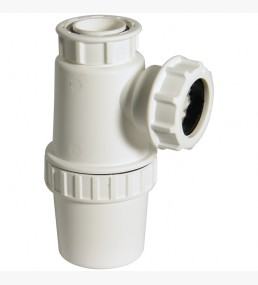 Anti Vac Bottle 76mm Seal White