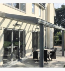 Alfresco Glass Canopy
