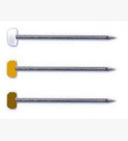 Poly Top Fascia Pins Black