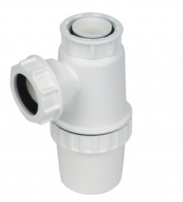 Bottle Trap 76mm Seal White