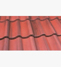Marley Mendip Old English Dark Red Roof Tile