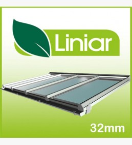 Liniar 2.5 Metre Projection(away from wall) Kit Roof