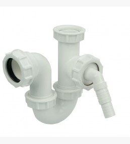 Single Bowl Sink Kit 76mm Seal White
