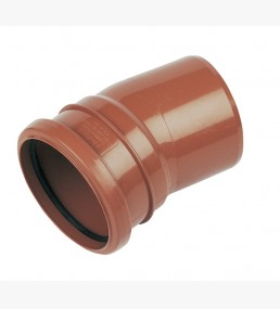 L 15° Single Bend Socket / Spigot