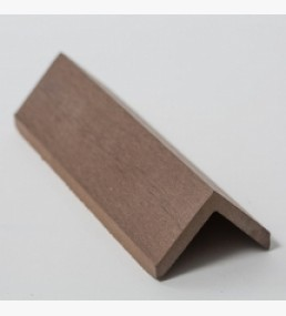 Composite Decking Angle Trim - Brown