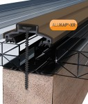 Brown Alukap-XR Glazing Bars & Accessories