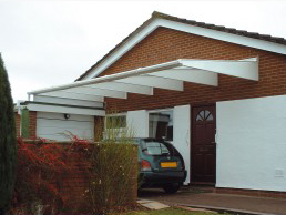 Buy a Carport Canopy Today » & Carport Canopies | Door Canopies | Maxiport Canopies | Cantilever ...